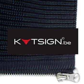 48 Custom Designer Labels | Cotton Labels | Custom Printed